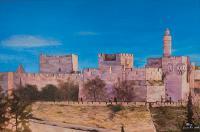 תמונות בד לסוכה חומות ירושלים